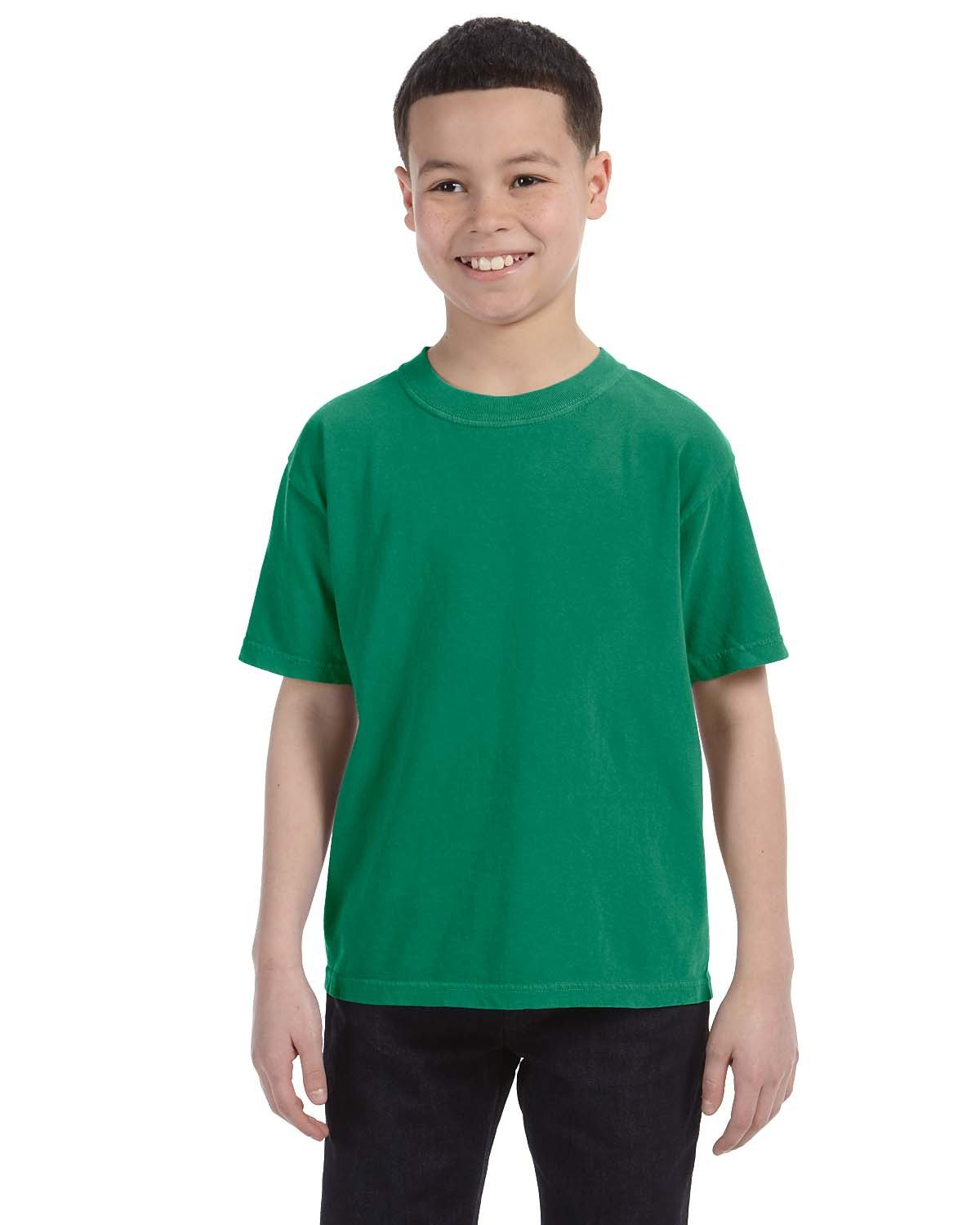 Comfort Colors Youth Midweight RS T-Shirt GRASS