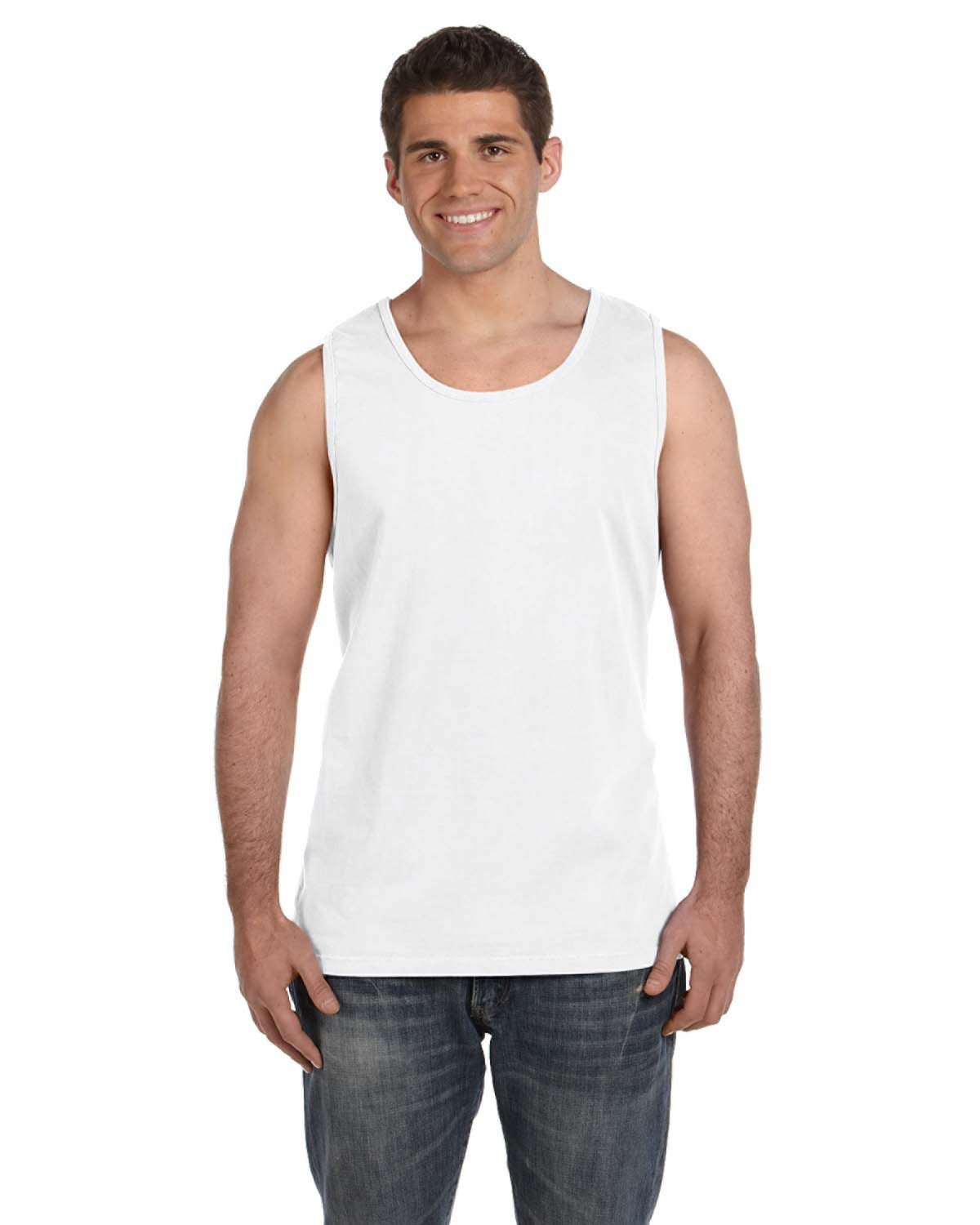 Comfort Colors Adult Heavyweight RS Tank WHITE