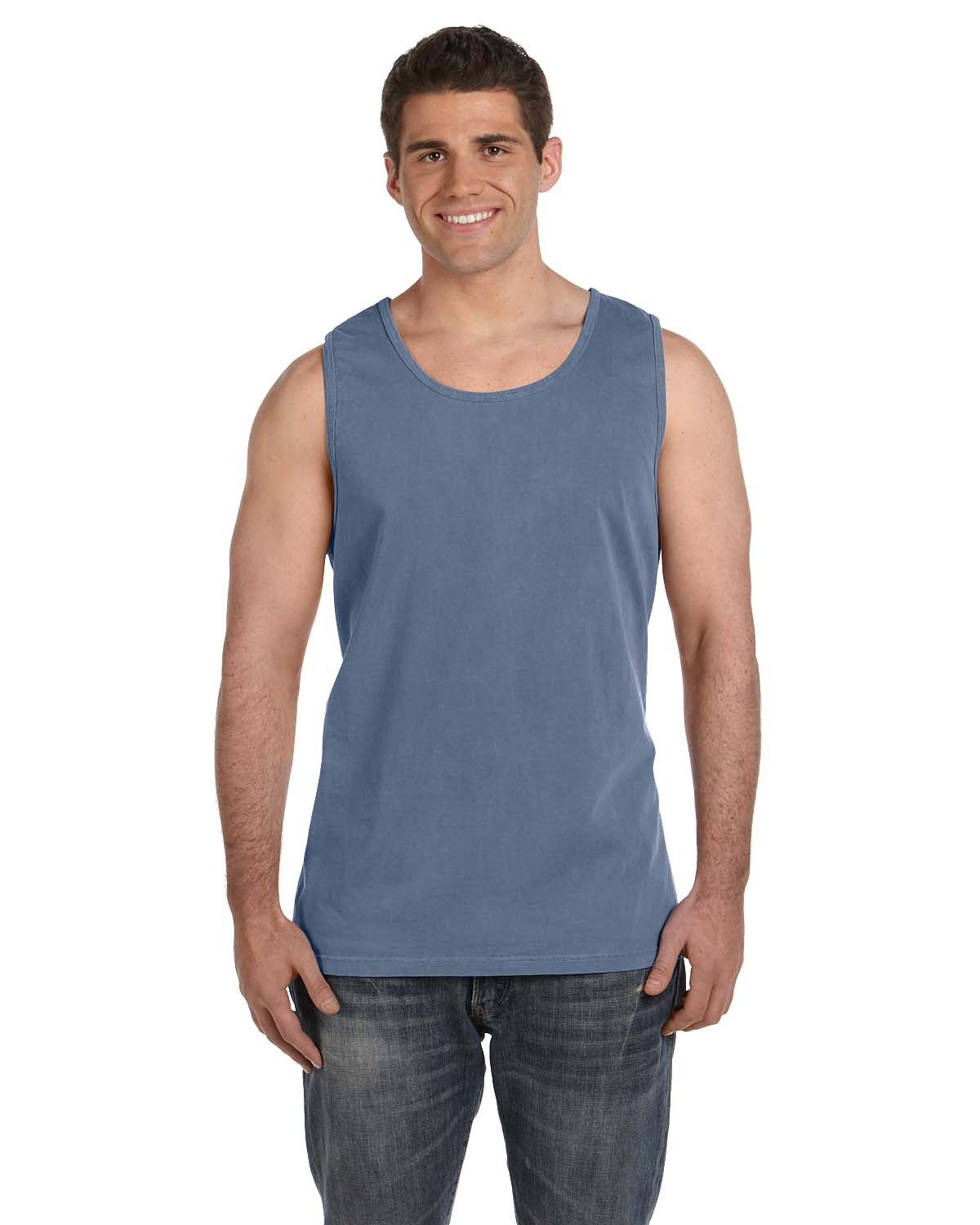 Comfort Colors Adult Heavyweight RS Tank BLUE JEAN