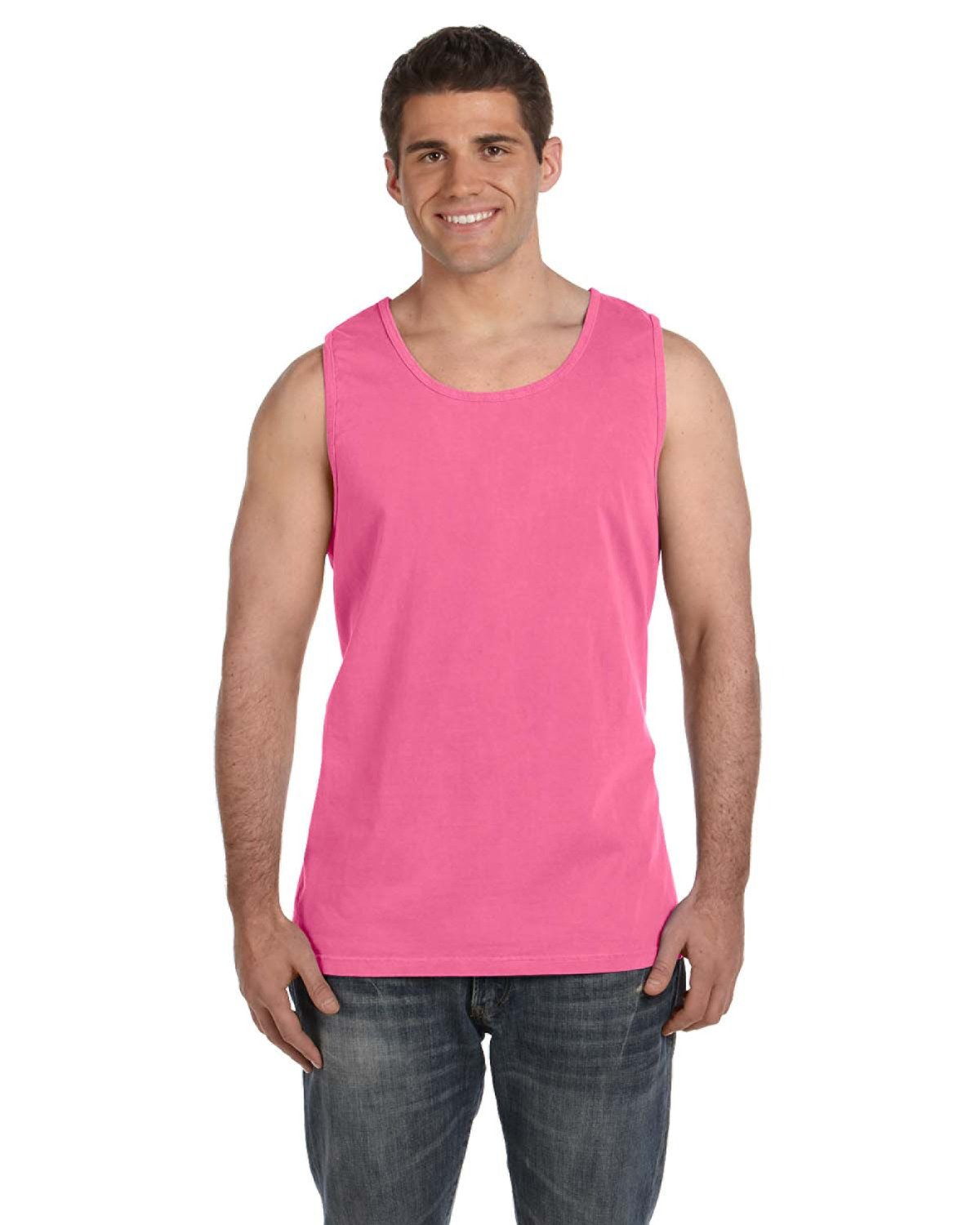Comfort Colors Adult Heavyweight RS Tank CRUNCHBERRY