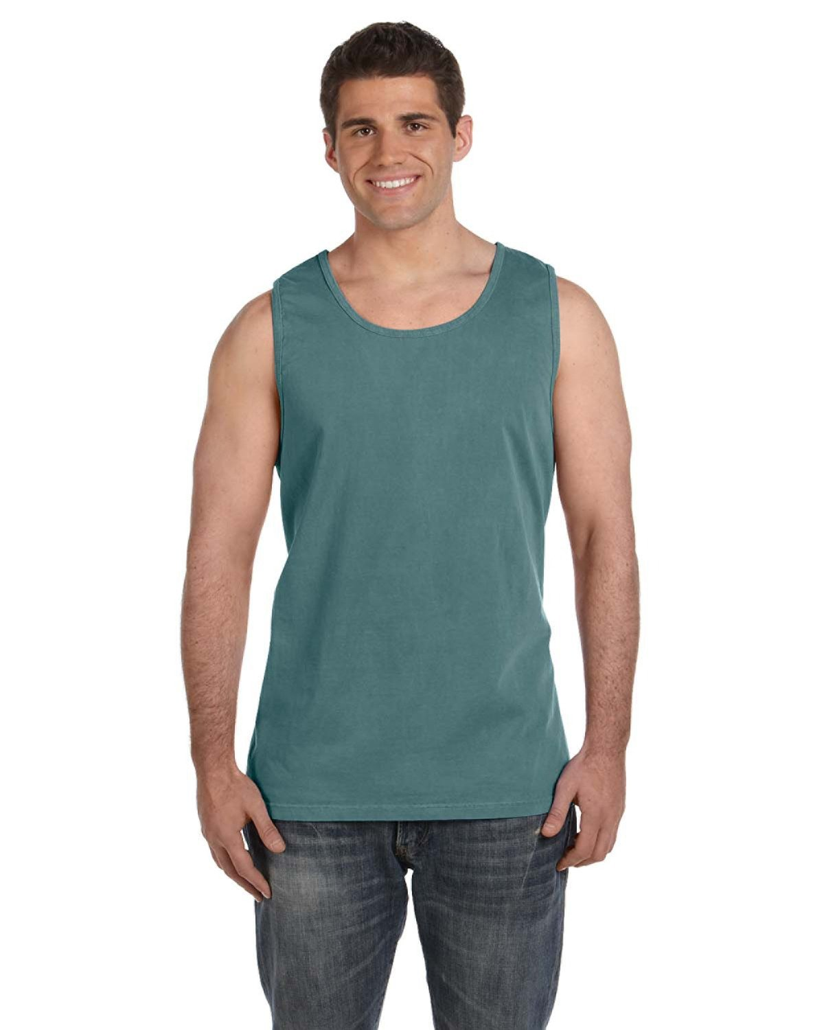 Comfort Colors Adult Heavyweight RS Tank BLUE SPRUCE