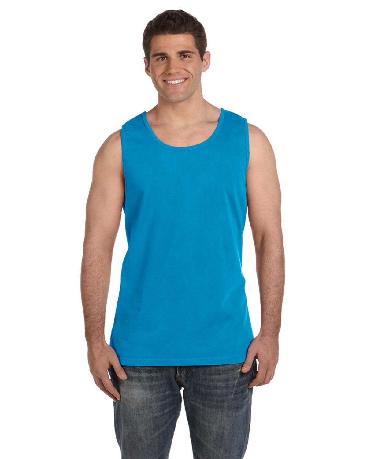 Comfort Colors Adult Heavyweight RS Tank SAPPHIRE