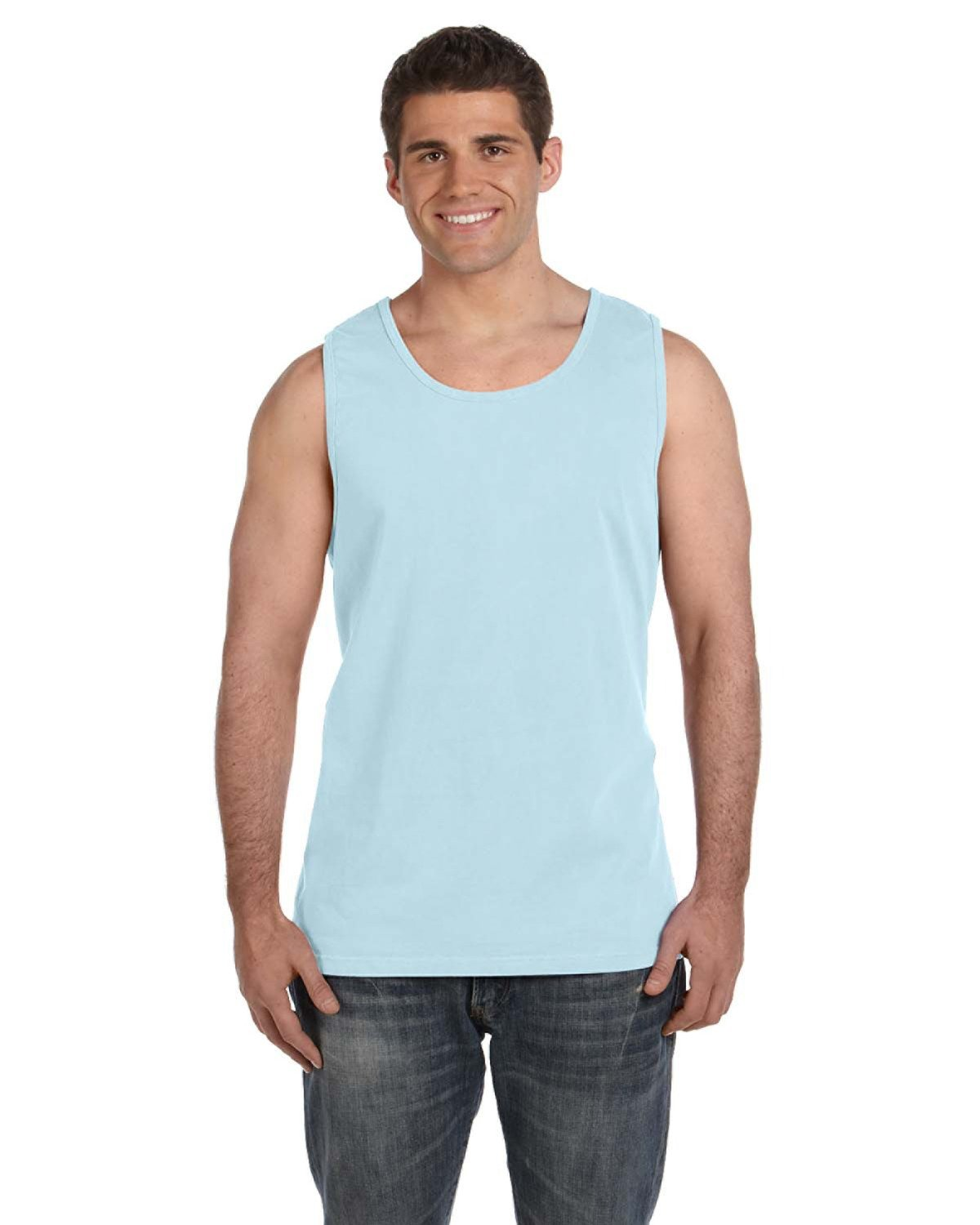 Comfort Colors Adult Heavyweight RS Tank CHAMBRAY