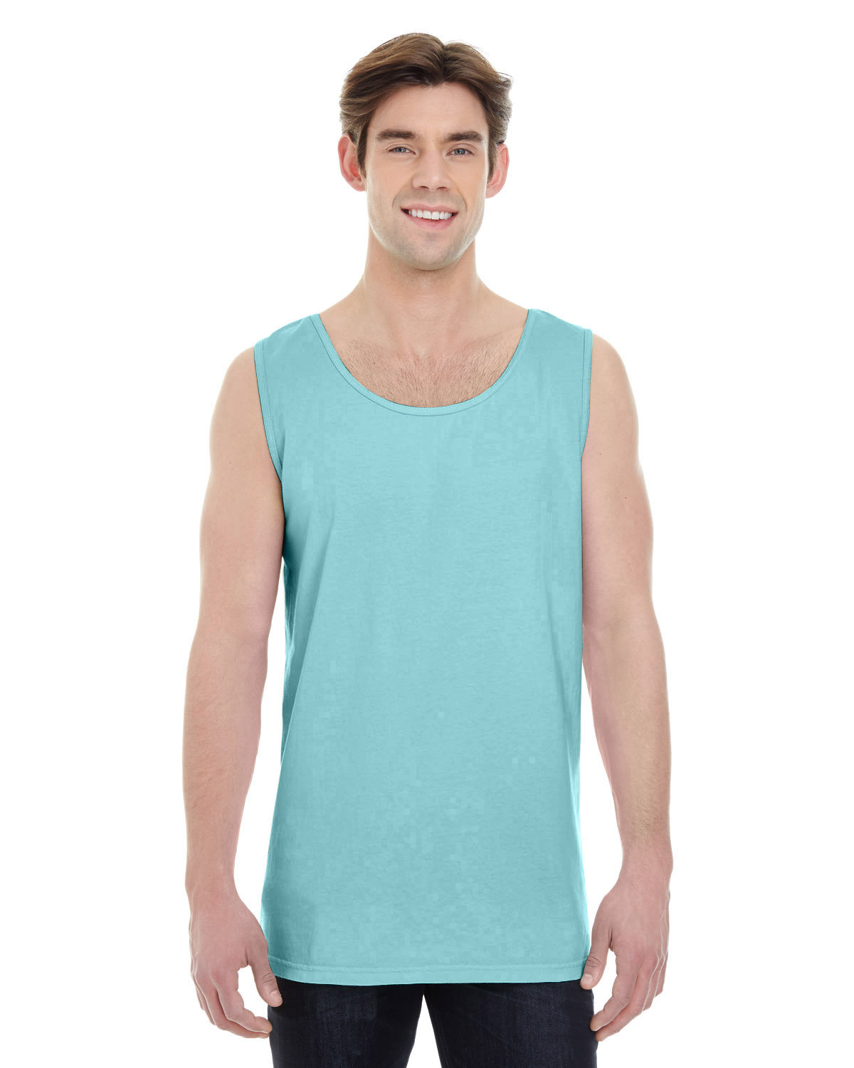 Comfort Colors Adult Heavyweight RS Tank CHALKY MINT
