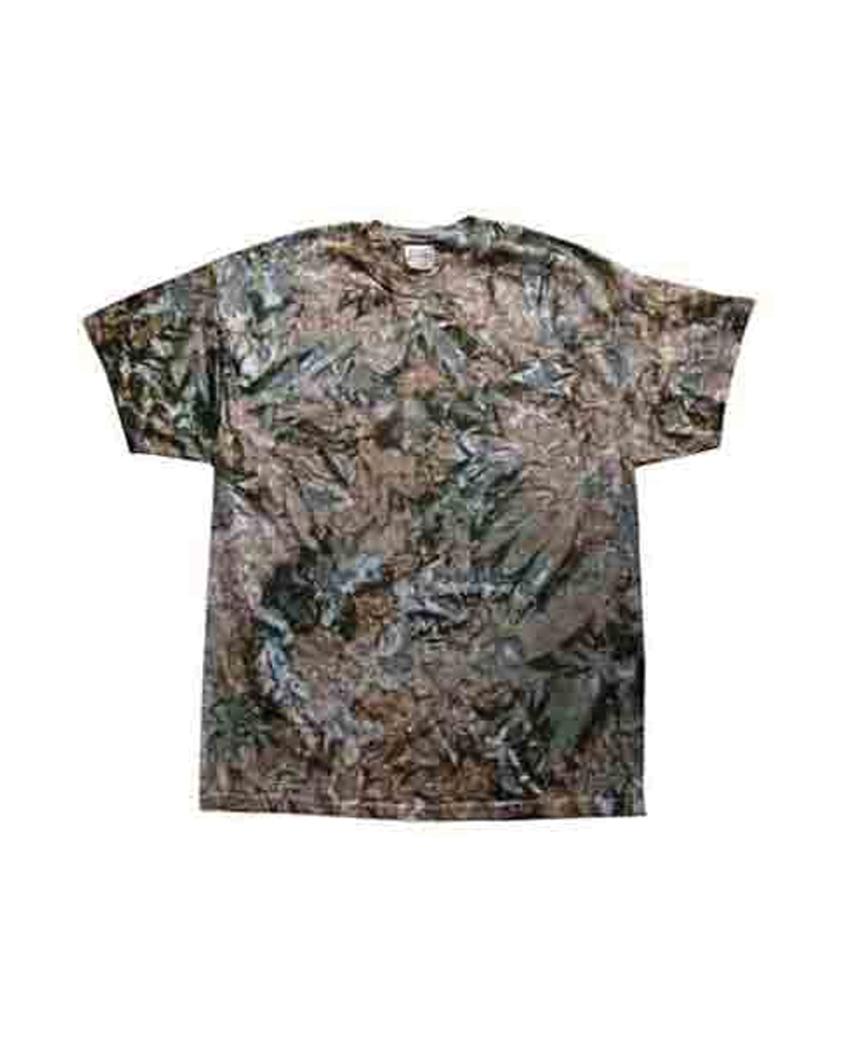 Tie-Dye Adult 5.4 oz., 100% Cotton T-Shirt CAMO