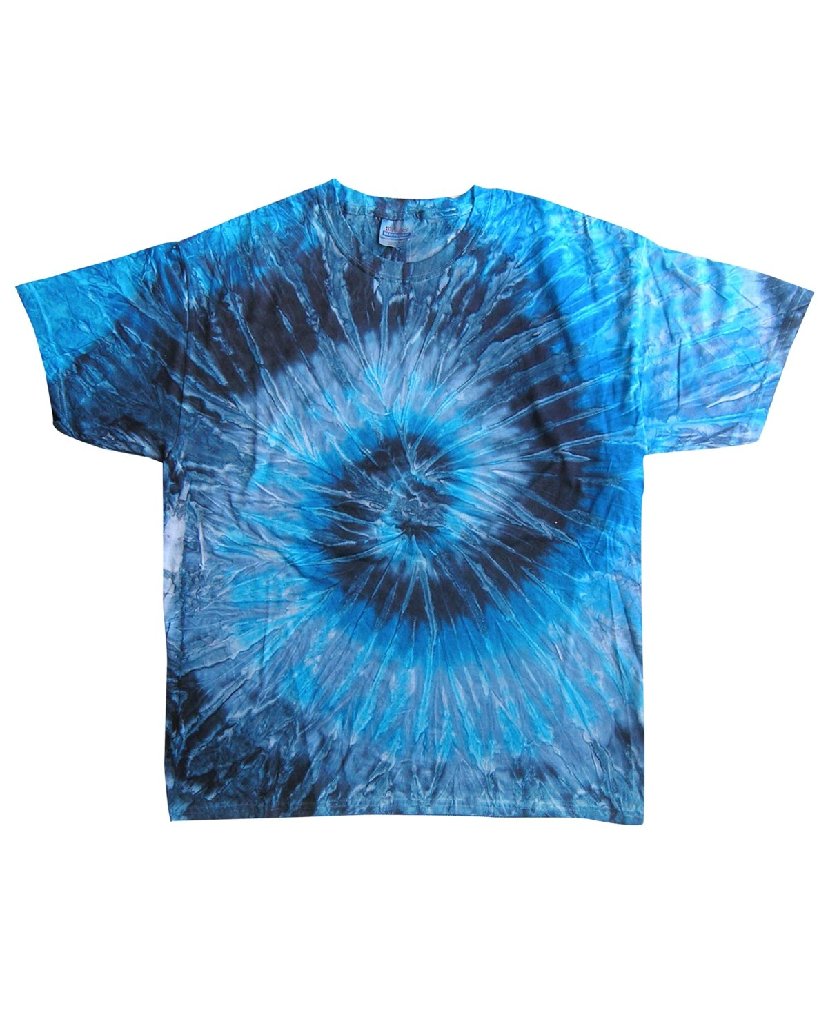 Tie-Dye Adult 5.4 oz., 100% Cotton T-Shirt EVENING SKY