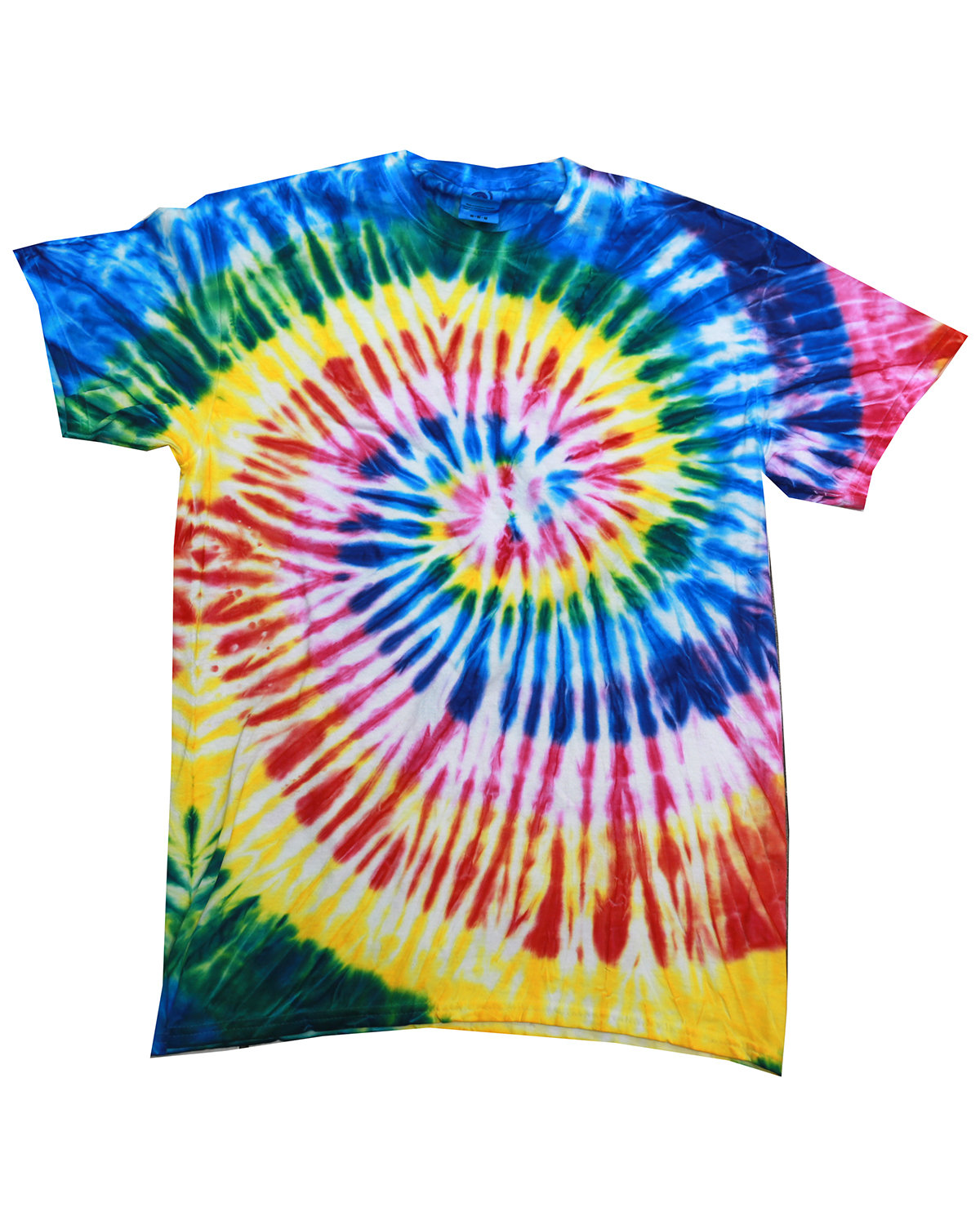 Tie-Dye Adult 5.4 oz., 100% Cotton T-Shirt SANTA BARBARA