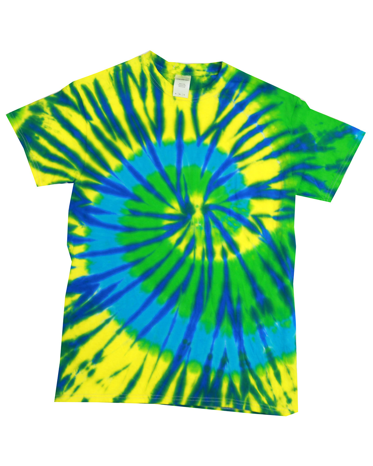 Tie-Dye Adult 5.4 oz., 100% Cotton T-Shirt KARMA