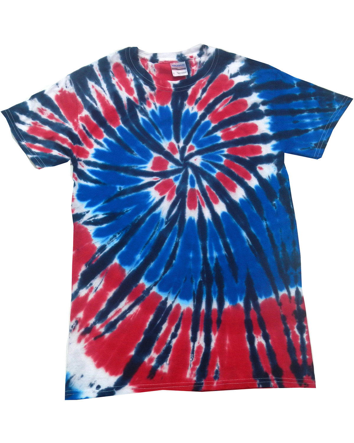 Tie-Dye Adult 5.4 oz., 100% Cotton T-Shirt INDEPENDENCE