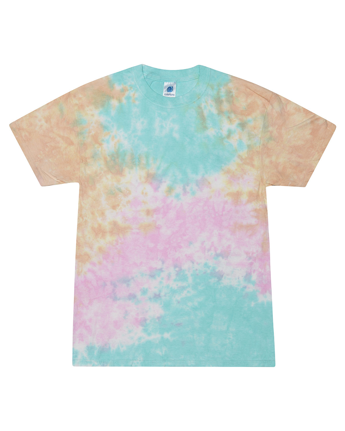 Tie-Dye Adult 5.4 oz., 100% Cotton T-Shirt SNOW CONE