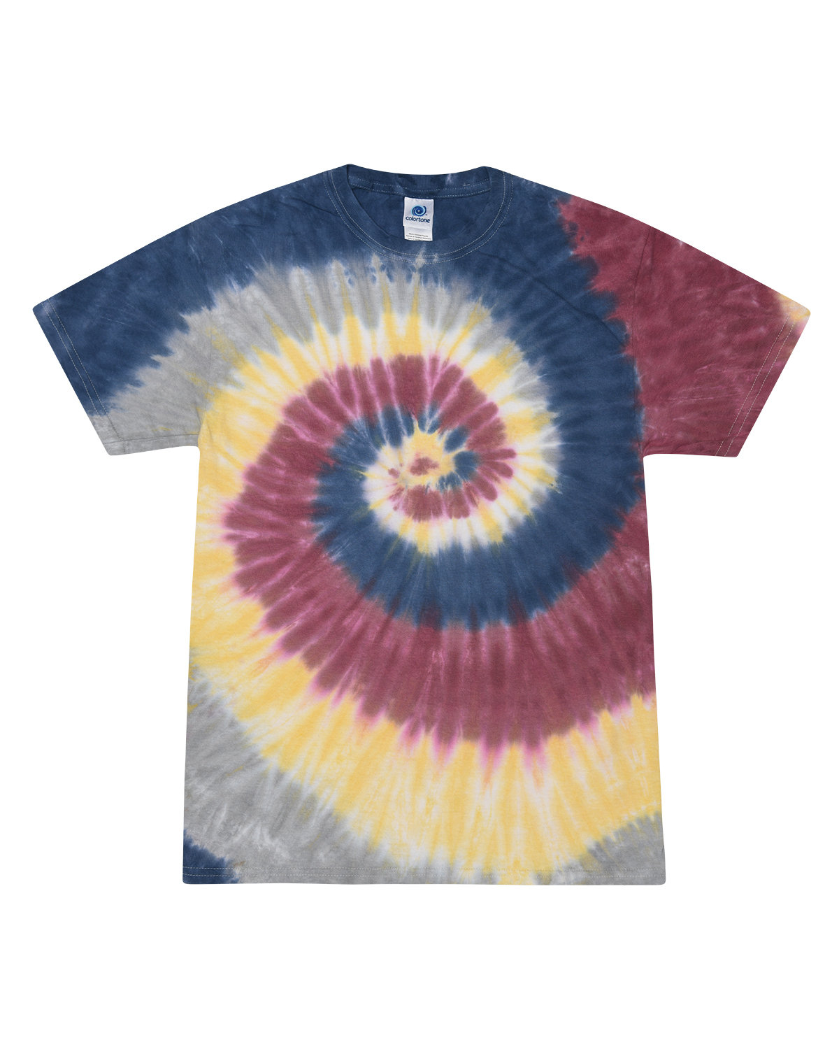 Tie-Dye Adult 5.4 oz., 100% Cotton T-Shirt LOTUS