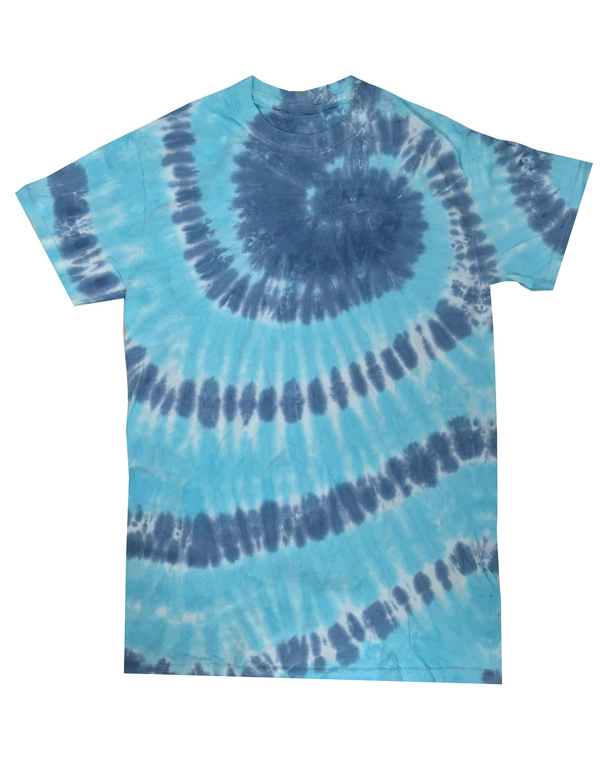 Tie-Dye Adult 5.4 oz., 100% Cotton T-Shirt CORAL REEF