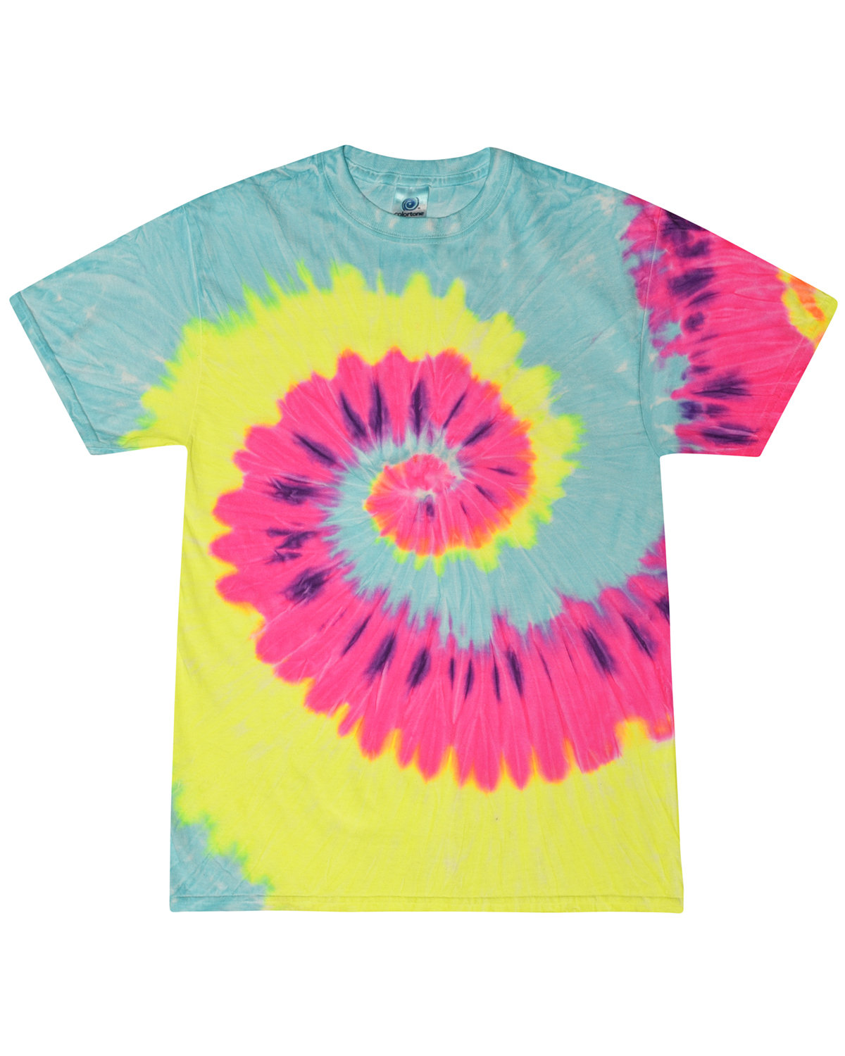 Tie-Dye Adult 5.4 oz., 100% Cotton T-Shirt BLAST