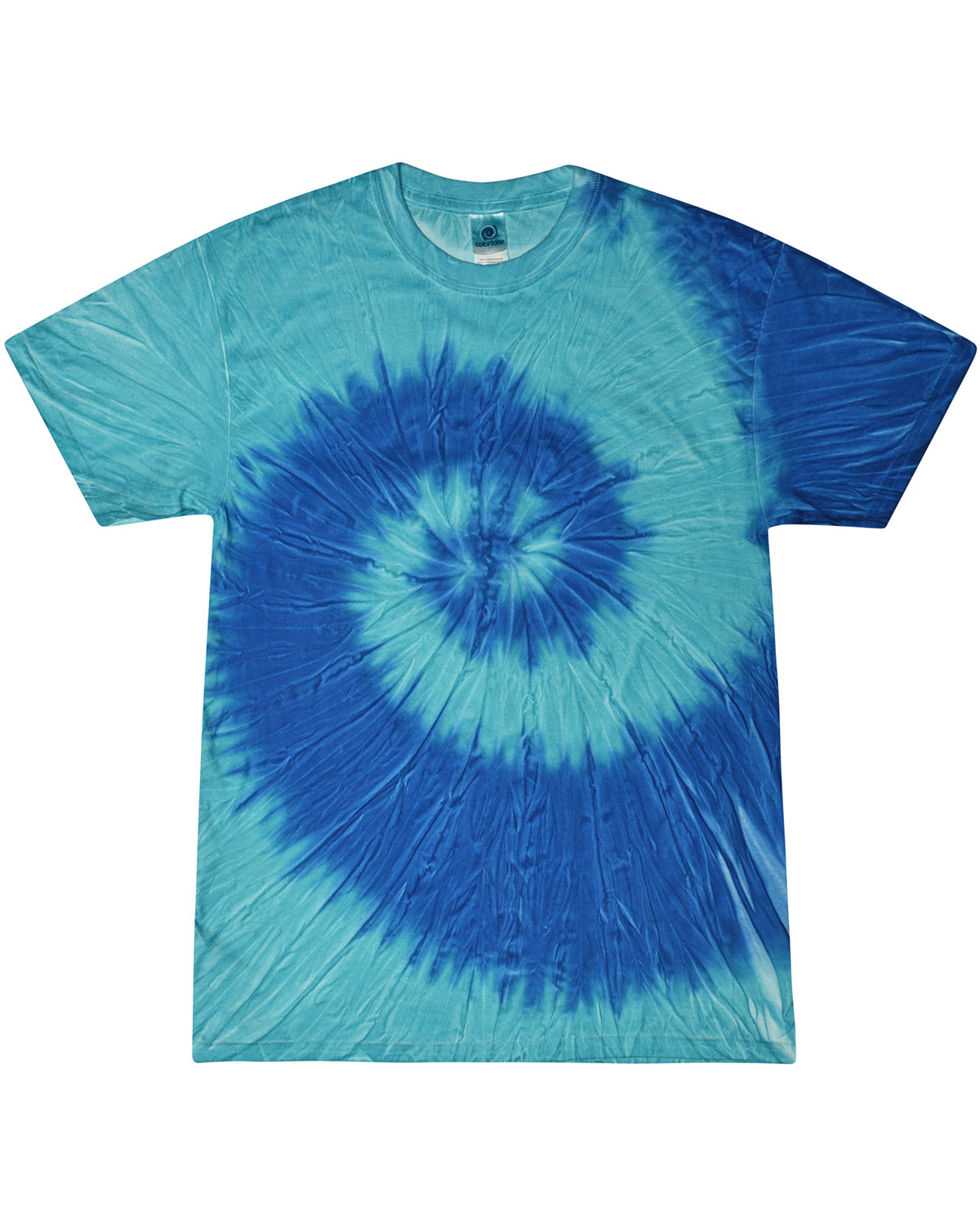 Tie-Dye Adult 5.4 oz., 100% Cotton T-Shirt STELLA BLUE