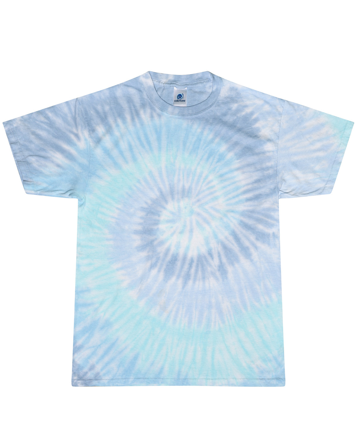 Tie-Dye Adult 5.4 oz., 100% Cotton T-Shirt LAGOON