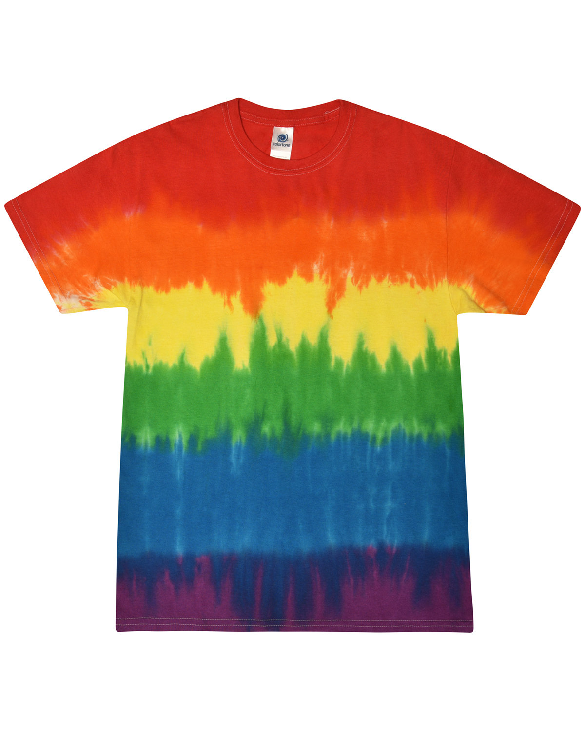Tie-Dye Adult 5.4 oz., 100% Cotton T-Shirt PRIDE