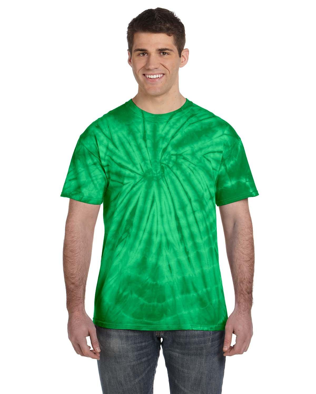 Tie-Dye Adult 5.4 oz. 100% Cotton Spider T-Shirt SPIDER KELLY
