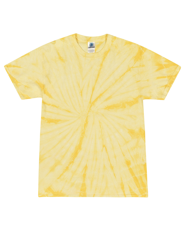 Tie-Dye Adult 5.4 oz. 100% Cotton Spider T-Shirt SPIDER DANDELION