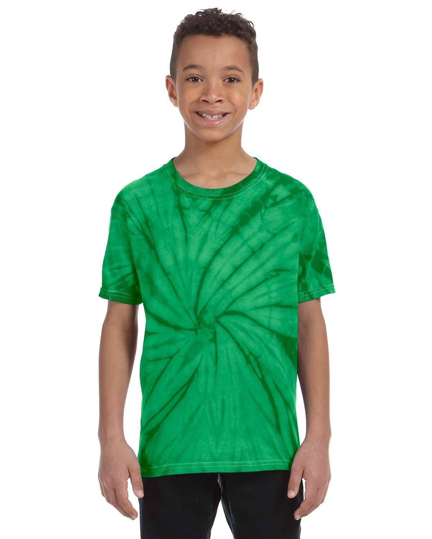 Tie-Dye Youth 5.4 oz. 100% Cotton Spider T-Shirt SPIDER KELLY