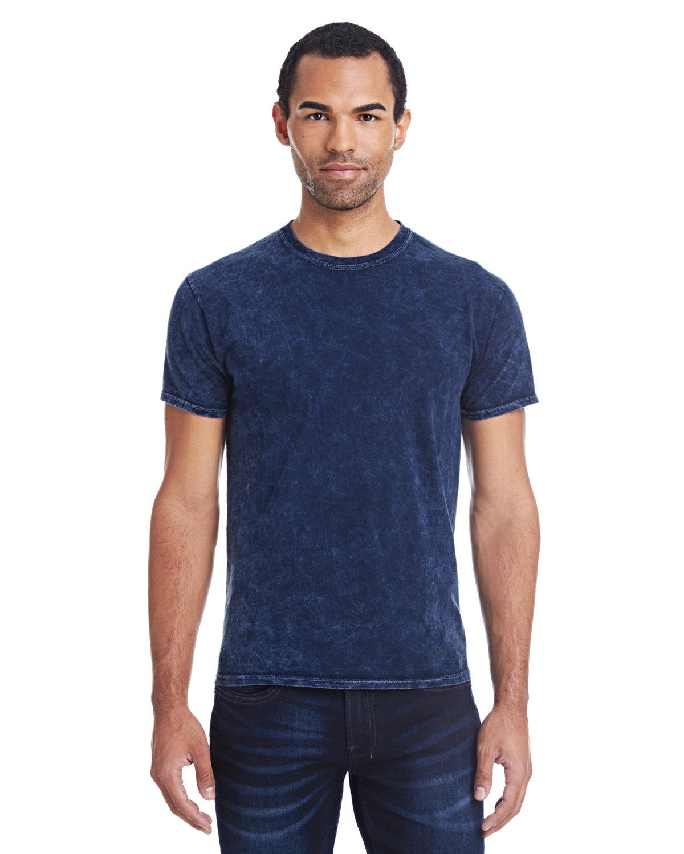Tie-Dye Adult 100% Cotton Vintage Wash T-Shirt MINERAL NAVY