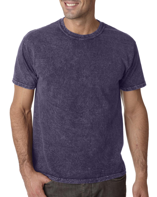 Tie-Dye Adult 100% Cotton Vintage Wash T-Shirt MINERAL PURPLE