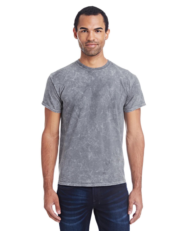 Tie-Dye Adult 100% Cotton Vintage Wash T-Shirt MINERAL GRAY