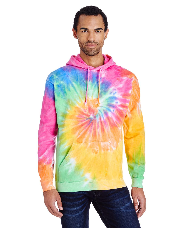Tie-Dye Adult Tie-Dyed Pullover Hooded Sweatshirt ETERNITY