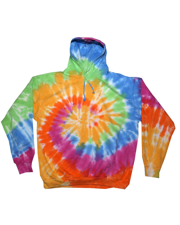 Tie-Dye Youth 8.5 oz. Tie-Dyed Pullover Hooded Sweatshirt ETERNITY