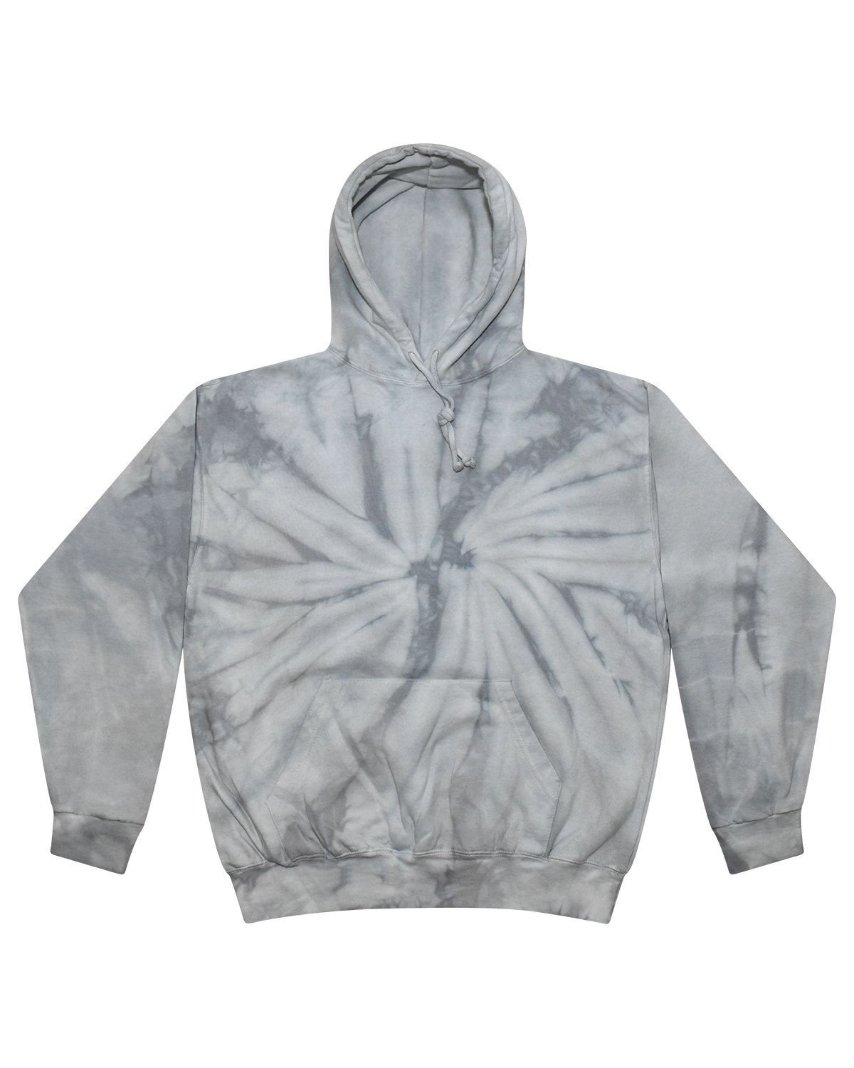 Tie-Dye Youth 8.5 oz. Tie-Dyed Pullover Hooded Sweatshirt SPIDER SILVER