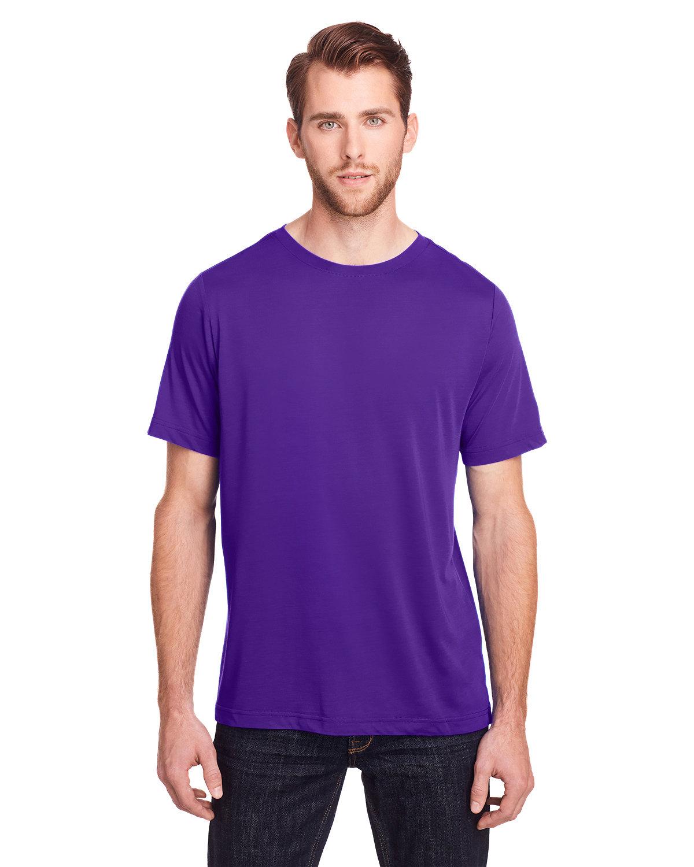 Core 365 Adult Fusion ChromaSoft Performance T-Shirt CAMPUS PURPLE