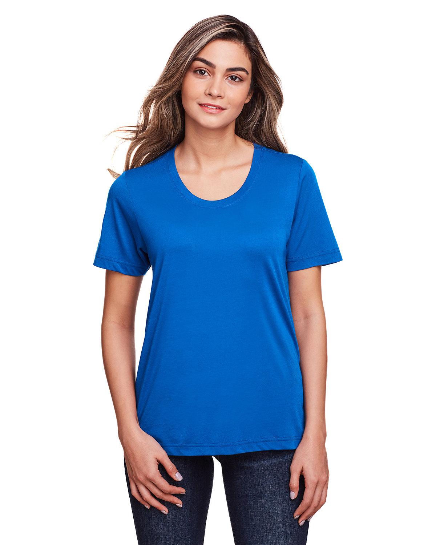 Core 365 Ladies' Fusion ChromaSoft™ Performance T-Shirt TRUE ROYAL