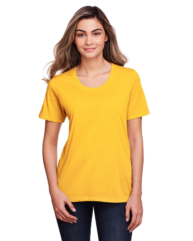 Core 365 Ladies' Fusion ChromaSoft™ Performance T-Shirt CAMPUS GOLD