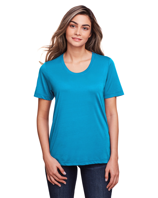 Core 365 Ladies' Fusion ChromaSoft™ Performance T-Shirt ELECTRIC BLUE
