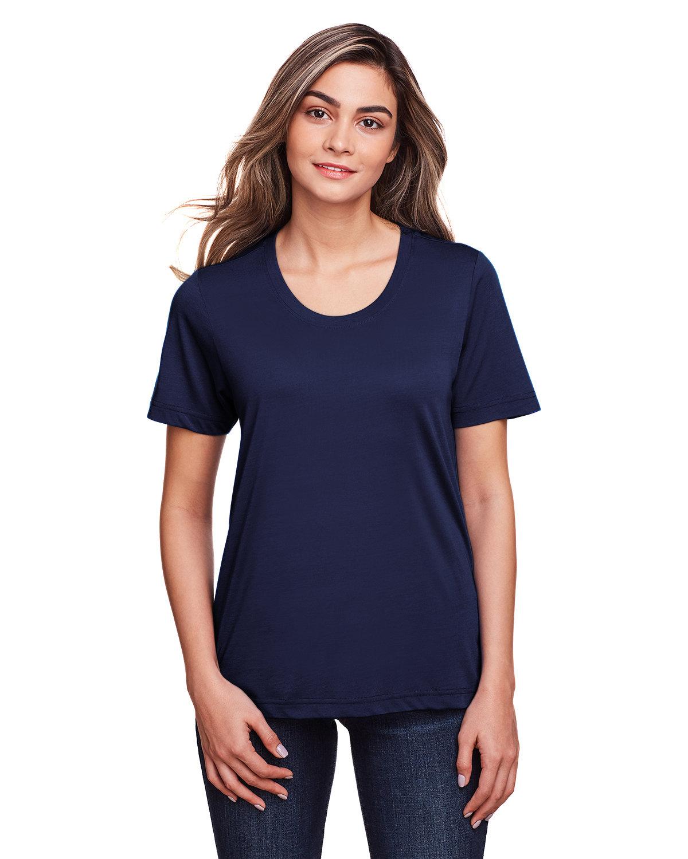 Core 365 Ladies' Fusion ChromaSoft™ Performance T-Shirt CLASSIC NAVY