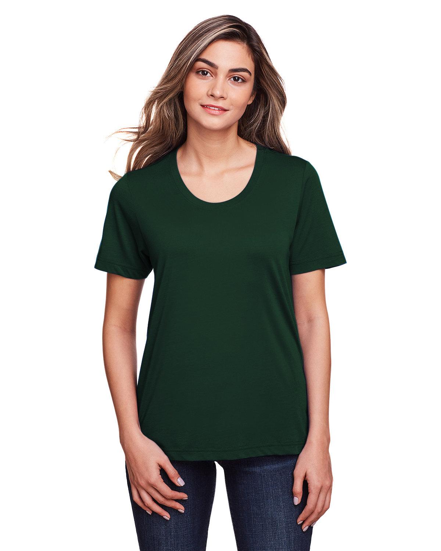 Core 365 Ladies' Fusion ChromaSoft™ Performance T-Shirt FOREST