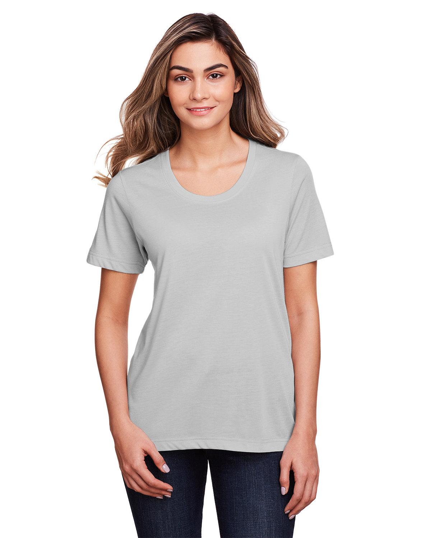 Core 365 Ladies' Fusion ChromaSoft™ Performance T-Shirt PLATINUM
