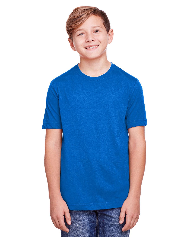 Core 365 Youth Fusion ChromaSoft Performance T-Shirt TRUE ROYAL