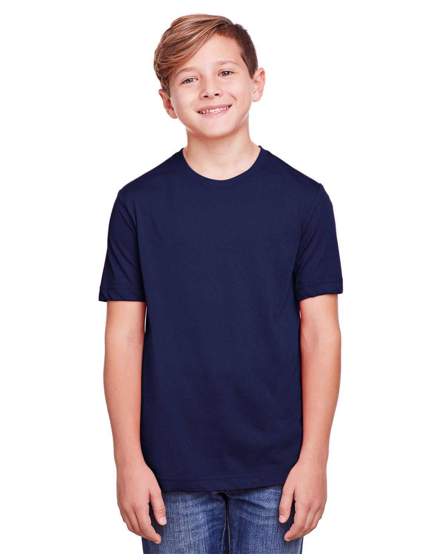 Core 365 Youth Fusion ChromaSoft Performance T-Shirt CLASSIC NAVY