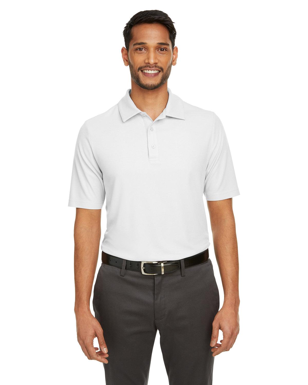 Core 365 Men's Fusion ChromaSoft™ Pique Polo WHITE