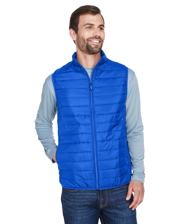 Core 365 Men's Prevail Packable Puffer Vest TRUE ROYAL