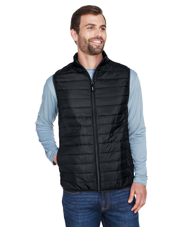 Core 365 Men's Prevail Packable Puffer Vest BLACK
