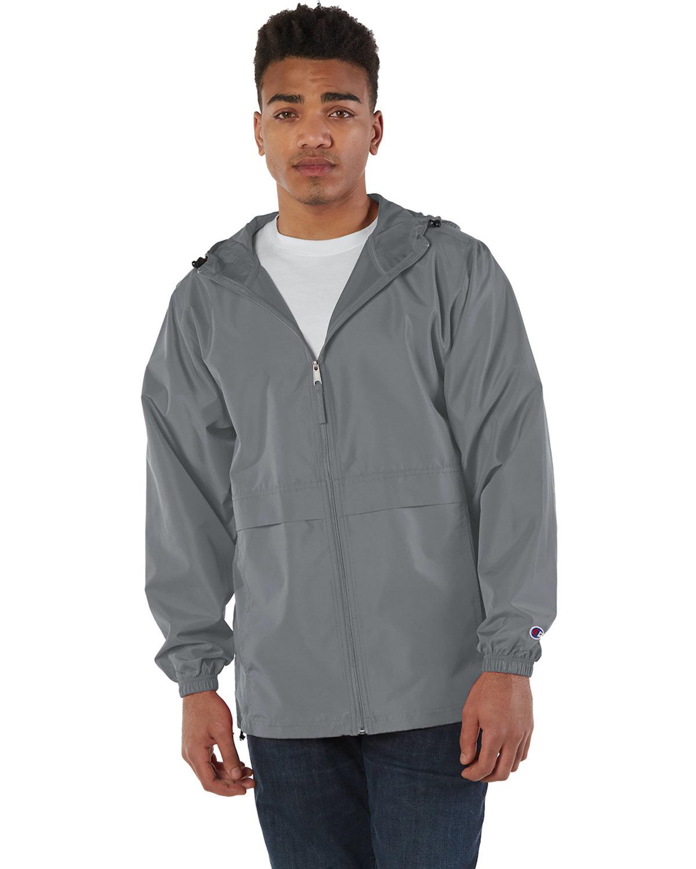 Champion Adult Full-Zip Anorak Jacket GRAPHITE