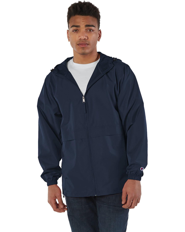 Champion Adult Full-Zip Anorak Jacket NAVY