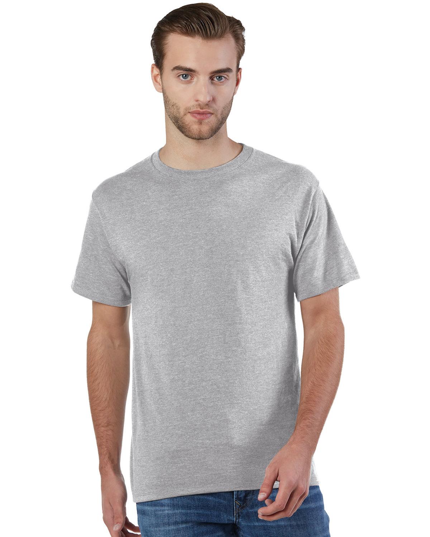 Champion Adult Ringspun Cotton T-Shirt OXFORD GRAY