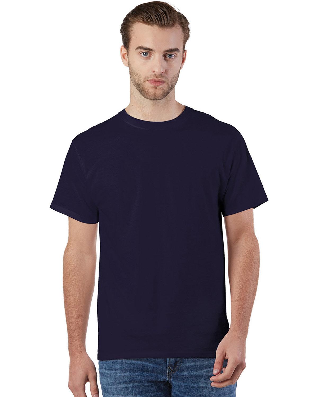 Champion Adult Ringspun Cotton T-Shirt RAVENS PURPLE