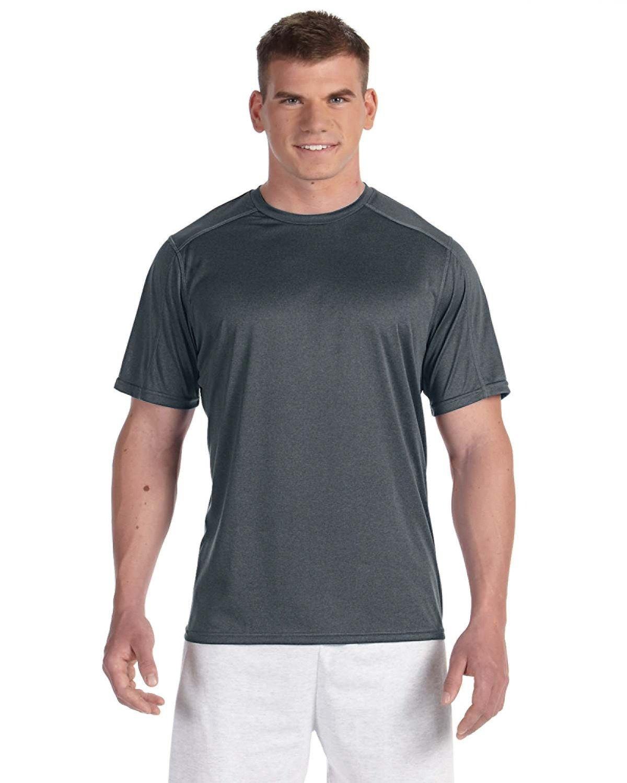 Champion Adult Vapor® 3.8 oz. T-Shirt BLACK HEATHER