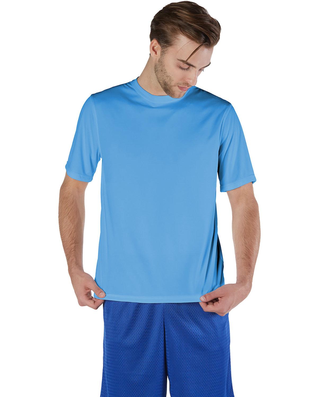 Champion Adult 4.1 oz. Double Dry® Interlock T-Shirt LIGHT BLUE