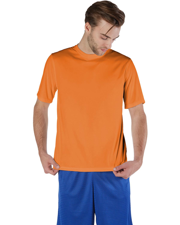 Champion Adult 4.1 oz. Double Dry® Interlock T-Shirt SAFETY ORANGE