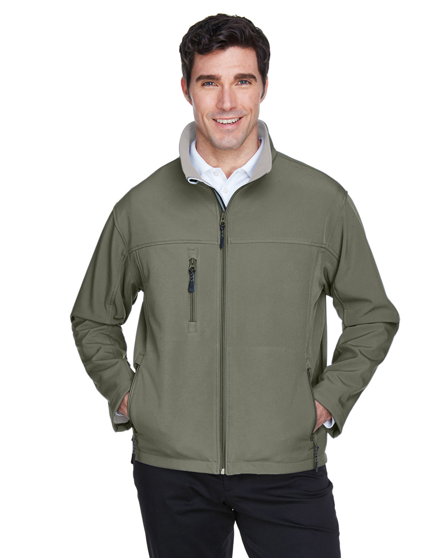 Devon & Jones Men's Soft Shell Jacket OLIVE