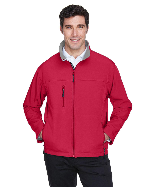 Devon & Jones Men's Soft Shell Jacket RED